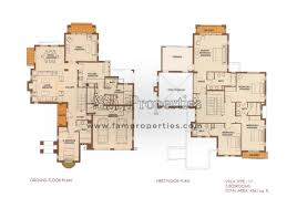 floor plans arabian ranches dubai land by emaar