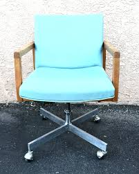 Seafoam Green Chair by Mid Century Modern Seafoam Green Office Desk Chair Found Objects