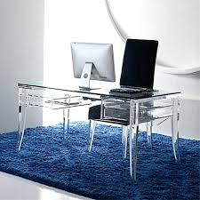 Small Home Desk Desk Small Glass Table Tables For Sale Acrylic With Regard To