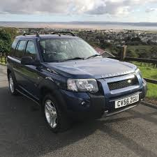 land rover metallic landrover freelander hse td diesel 4x4 manual metallic blue black