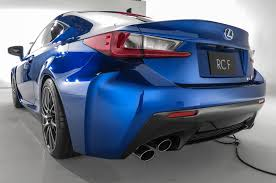 blue lexus 2015 2015 lexus rc f first look motor trend
