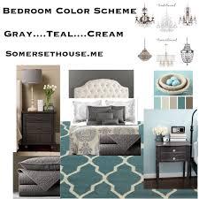 bedroom color scheme u2013 gray u2026teal u2026cream joan somers design