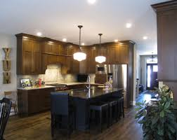 rustic cherry kitchen woodecor quality custom cabinetry