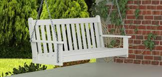 outdoor benches swings u0026 gliders vermont woods studios