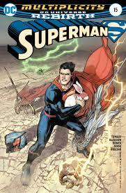 dc comics rebirth spoilers u0026 review superman 15 multiversity