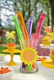 Centerpieces For Kids by Sunshine Party Ideas And Outdoor Activities For Kids Sunshine