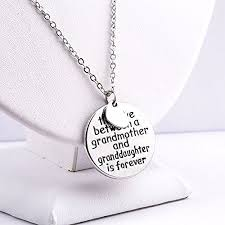 grandmother and granddaughter necklaces pendant necklace the between a