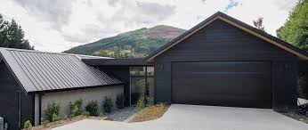 House Design Companies Nz Arthur U0027s Point House Black Cladding Concrete Wall First Family