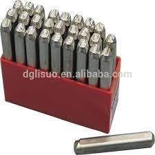 steel stamping letter u0026 number punches sets buy letter u0026 number