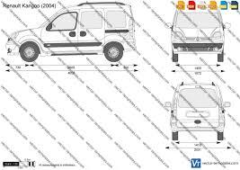 nissan nv200 template templates cars renault renault kangoo