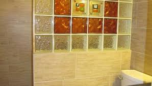 glass block bathroom designs stylish design diy room decor 10 lowes dacor