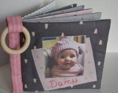 Cloth Photo Album Cuddle Book U0027 U2013 Safe Personalised Cloth Fabric Baby Photo Album