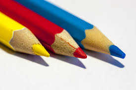 colors close to yellow free images hand pencil red color paint blue colorful