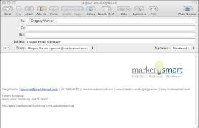 marketsmart llc is your email signature helping or hurting your