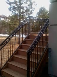 Outside Banister Railings Stairs Amusing Outside Stair Railings Awesome Outside Stair