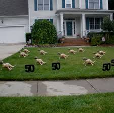 Statues For Home Decor by Diy Exceptional Lawn Statues Birthday Yard Decoration Ideas Front