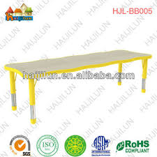 Kids Coloring Table Colorful Long Table For 10 Kids Mdf Waved Board Buy Kids Writing