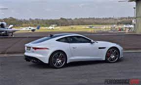 jaguar cars 2016 2016 jaguar f type r awd review video performancedrive