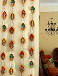 Home Decor Material by Diwali Craft Idea Throughout Wall Decoration Ideas From Waste