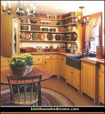 americana style primitive country farmhouse style decorating