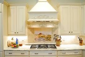 white kitchen with backsplash tiles backsplash tuscany in the mist tile mural white kitchen