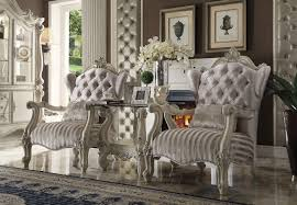 Antique White Chairs Stationary