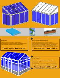 vitrage toiture veranda aluminium u0026 veranda vérandas prêtes à poser kiosques aluminium