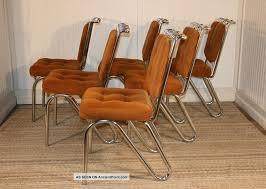 kitchen dining chair mid century modern daystrom chrome hairpin