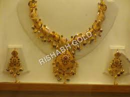 yellow gold necklace sets images Antique gold necklace sets antique gold necklace sets exporter jpg