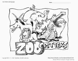free printable coloring pages zoo