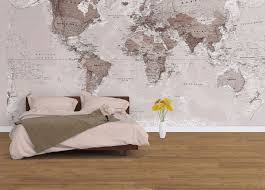 World Map Wallpaper Neutral World Map Wallpaper
