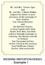 Wedding Quotes For Invitations Wedding Invitation Wording Both Parents Theruntime Com