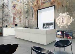 Unique Reception Desks Exquisite Contemporary Reception Desk And Cabinets In Bright