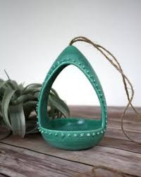 Modern Hanging Planters by Ceramic Cephalopod And Jellyfish Air Plant Holders Air Plants