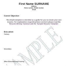 resume format blank blank resume forms tigertweet me