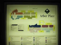 map of arbor sky city southern and mid atlantic retail history arbor place