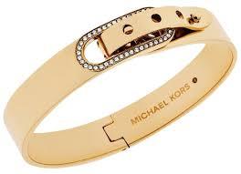 crystal buckle bracelet images Michael kors gold glitz pave crystal buckle tone oval bangle jpg