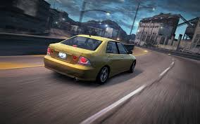 lexus is200 modified image carrelease lexus is 300 yellow 3 jpg nfs world wiki
