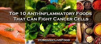 organic live food anti inflammatory foods that can fight cancer cells