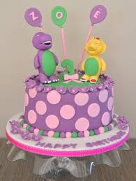 barney birthday cake girl s birthday cakes and cupcakes