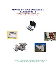 manual of civil engineering laboratory ph solution