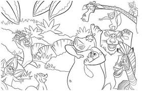 fresh madagascar coloring pages 88 with additional free coloring