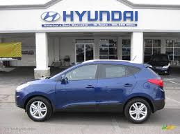 2011 hyundai tucson interior 2011 iris blue hyundai tucson gls 45330747 gtcarlot com car