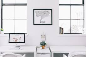 design story a minimal masculine office the havenly blog