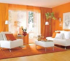 Orange Living Room Decor  Modern House - Orange living room design