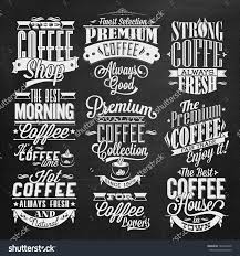 vintage cafe sign with calligraphy and decoration for coffee shop