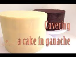 how to cover a cake in ganache from creative cakes by sharon youtube