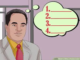 how to write a pardon letter 14 steps with pictures wikihow