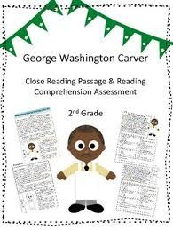 george washington carver close reading passage and reading