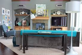 Sofa Console Table How To Style A Sofa Table